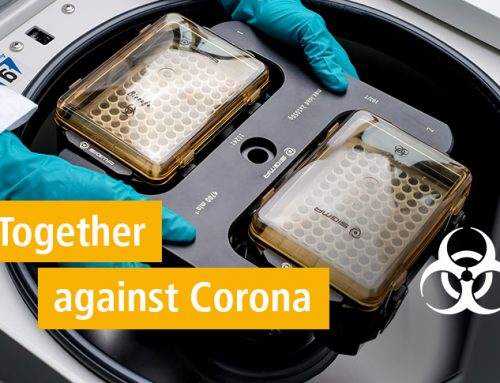 Together Against Corona: Centrifuges and Rotors for COVID-19 Testing